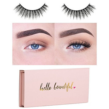 Icona Lashes Premium Quality False Eyelashes | Queen of Hearts | Glamorous With Volume | Natural Look and Feel | Reusable | 100% Handmade & Cruelty-Free