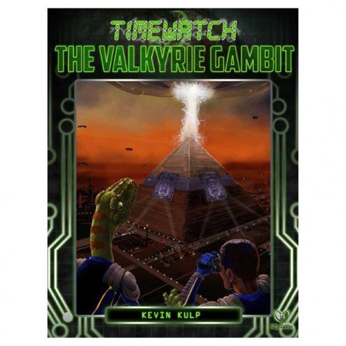Pelgrane Press PELGTW05 Time Watch - The Valkyrie Gambit Role Playing Game