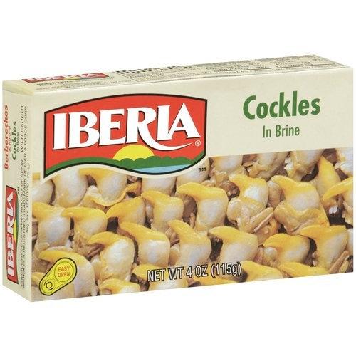 Iberia Cockles In Brine, 4 oz [multipack_quantity: multipack_quantity-1]