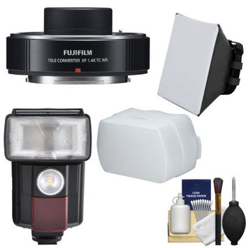 Panasonic Fujifilm Fujinon XF 1.4x TC WR Teleconverter with Flash + Diffusers + Kit