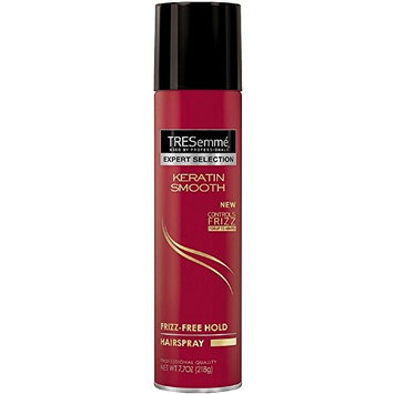 TRESemme Expert Selection Keratin Smooth Frizz-Free Hold Hairspray 7.70 oz (7 Pack)
