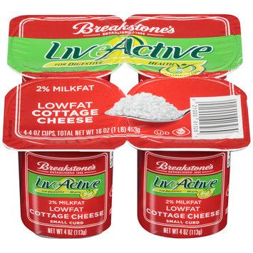 Breakstone's LiveActive 2% Milkfat Cottage Cheese