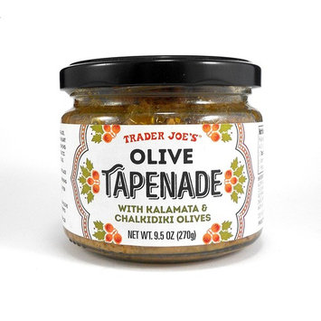 Trader Joe's Olive Tapenade with Kalamata & Chalikidiki Olives Spread 9.5 Oz.