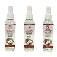 [VALUE PACK OF 3] FANTASIA IC COCONUT OIL MIST NOURISHING HYDRATING 6 OZ : Beauty