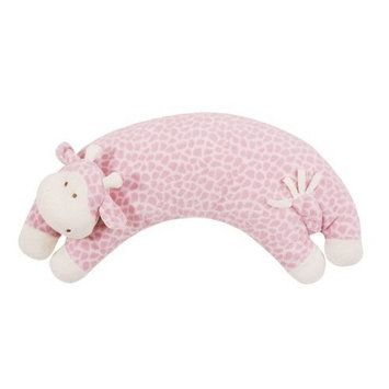 Angel Dear Curved Animal Pillows (One Size : Pink Giraffe)