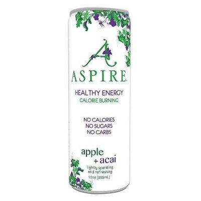 Aspire Apple = Acai Energy Drink - 12 fl oz Can