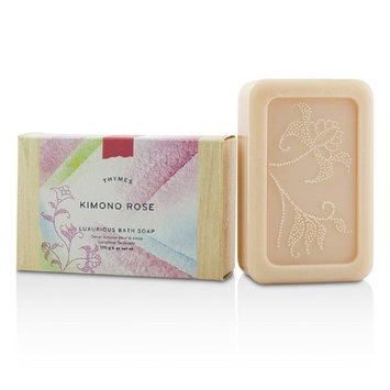 Thymes Kimono Rose Luxurious Bath Soap 170g/6oz