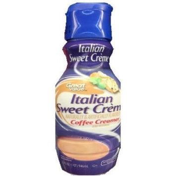 Great Value Coffee Creamer, Italian Sweet Crème, 32 fl oz