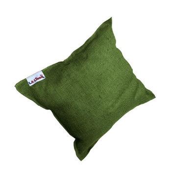 LA Linen 16x16-burlap-pillow-HunterJ20 Burlap Pillow Hunter Green - 16 x 16 in.