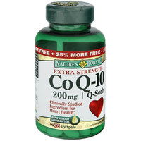 Nature's Bounty Extra Strength Co Q-10 200 mg Rapid Release Softgels, 75 OZ