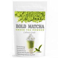 Wmbr Corp Bold Matcha (160z) - USDA Organic, Kosher & Non-GMO Certified, Vegan and Gluten-Free. Pure Matcha Green Tea