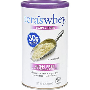 Whey Protein Isolate, Unsweetened 12 oz