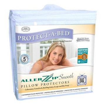 Protect-A-Bed Allerzip Pillow Protector Queen Size Allerzip Pillow Protector