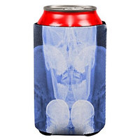 Old Glory Dead Inside Skull X-Ray All Over Can Cooler