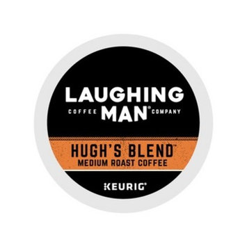 Laughing Man Coffee Hugh's Blend Keurig K-Cup Pods - 16ct/6.1oz