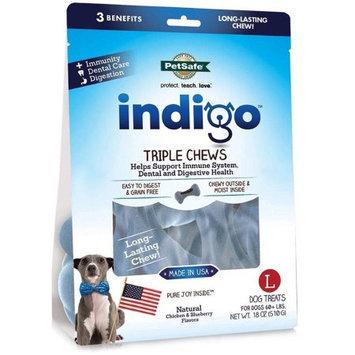 PetSafe Indigo Triple Chews Chicken Large 18 oz