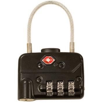 TSA Combination Cable Padlocks (2-Pack)