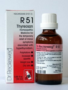 Thyreosan R51 50 ml by Dr. Reckeweg