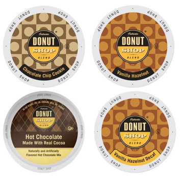 Single Cup Coffee Donut Shop Flavored Coffee Pack, a Deliciously Lip-Smacking Combination of Coffees and Desserts, 96 Count