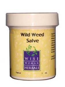 Wild Weed Salve 1oz by Wise Woman Herbals