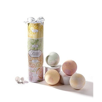 Secret Jewels 4 pc Scented Bath Bombs with Jewelry Inside