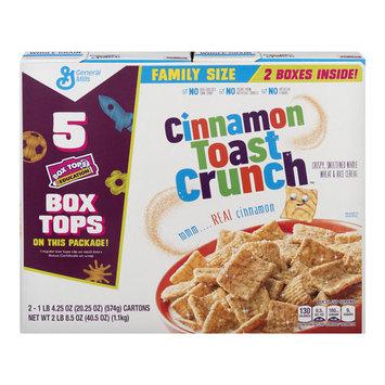 Cinnamon Toast Crunch Family Size - 2 CT20.25 OZ