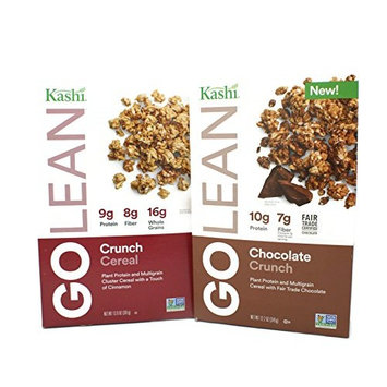 Variety Pack - Kashi Go Lean (12.2oz) - Crunch Cereal, Chocolate Crunch