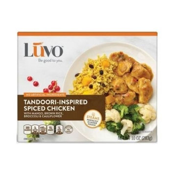 LUVO Entree Tandoori Spiced Chicken, 10 Ounce (Pack of 8)