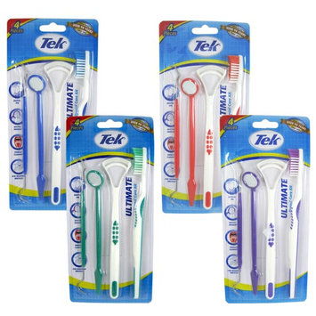 Atb 4 Oral Dental Pick Clean Bad Breath Tongue Cleaner Tooth Brush Scraper Handle