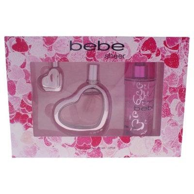 Bebe Sheer by Bebe for Women Fragrance Gift Set - 3pc