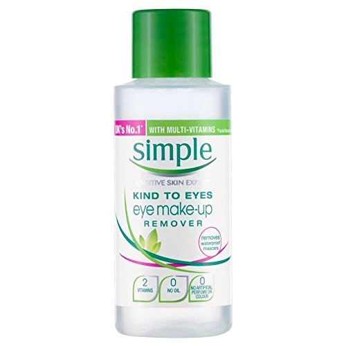 Simple Conditioning Eye Make Up Remover