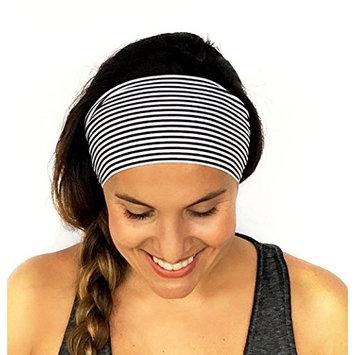 Binmer(TM) Ladies Stripe Sports Yoga Sweatband Gym Stretch Headband Hair Band