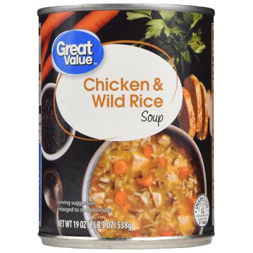 Great Value Chicken & Wild Rice Soup