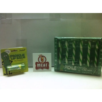Meat Maniac Pickle Lovers Combo Pack with Sticker- Pickle Candy Canes & Pickle Mints