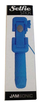 Jamsonic Pocket Selfie Stick WIRED BLUE