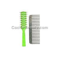 Original Bobby Vent Brush Green With Free Volumizing Comb