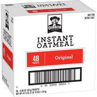 Pepsi Quaker Instant Oatmeal, Original, 48 Count