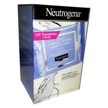 NEUTROGENA Makeup Remover Cleansing Towelettes, 125 Towelettes