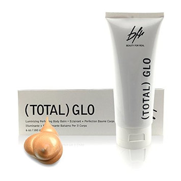 Beauty For Real Total GLO Luminizing and Perfecting Body Balm Bronzer, 6 fl. oz.