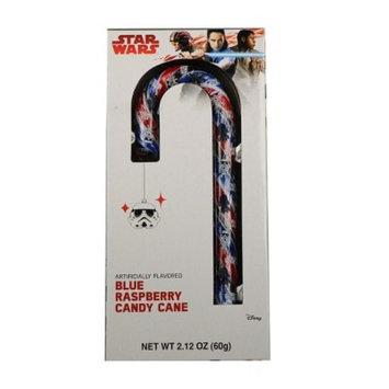 Christmas Star Wars Blue Raspberry Candy Cane - 2.12oz