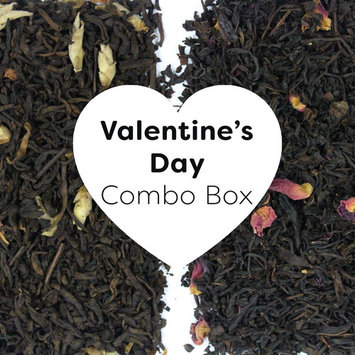 Field to Cup Valentine's Day Combo Box, Black Tea, chocolate and roses, 4oz, 2 bags, 60+ cups