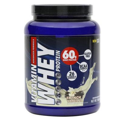 Vitamin Whey Protein, French Vanilla, 1lb 7oz