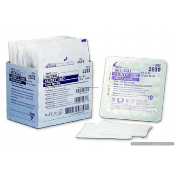 Curity - AMD - USP Type VII Antimicrobial Gauze Sponge Curity - AMD - Gauze 12-Ply 4 X 4 Inch Square Sterile - 10/Box - McK