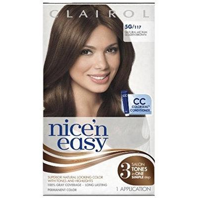 Clairol Nice 'n Easy [5G] Medium Golden Brown Permanent Hair Color 1 ea