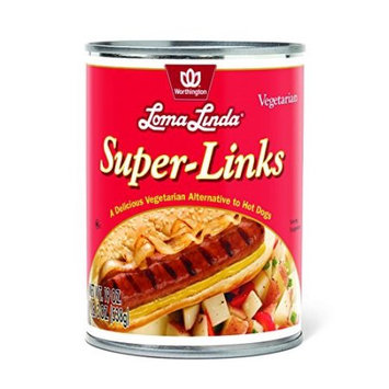 Loma Linda 259918 Vegetarian Meat Substitutes Super Links - 19 oz.