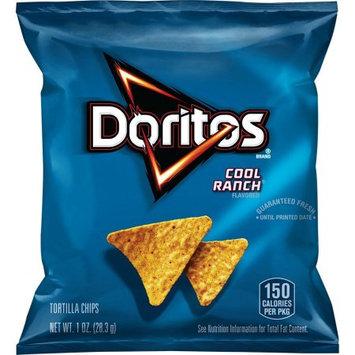 Frito Lay Doritos Cool Ranch Flavored Tortilla Chips, 1 Ounce (Pack of 40)