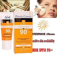 Sunscreen Cream Waterproof UV Protection Cream Long Lasting by MEIYao