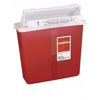 Sharps Container, SharpStar, 5 Quart, Red, In-Room Multipurpose, 8507SA - Each