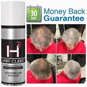 Fiber GREY Hair Loss Concealer - Hair Cubed
