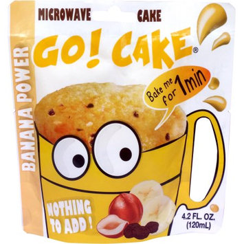 Easy Gourmand Llc Go! Cake Banana power - Case of 12 pouches